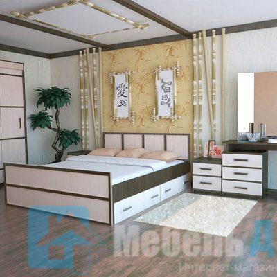 Спальня «Сакура 4» (б)