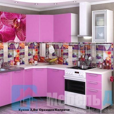 Кухня  Орхидея Каприче угловая   (р)