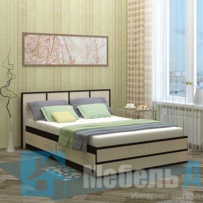 Кровать 1,6 м «Сакура» (б)