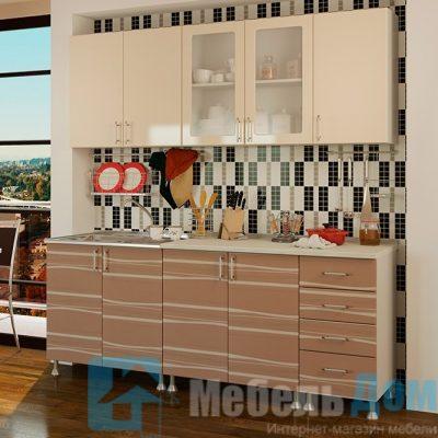 Кухня Капучино 2 м   (м)