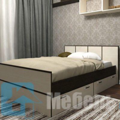 Кровать 1,4 м «Сакура» (б)