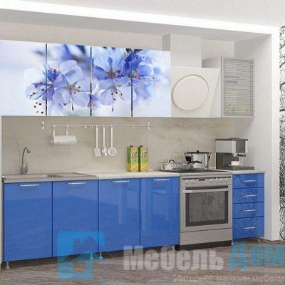 Кухня Лара фотопечать МДФ 2 м   (м)