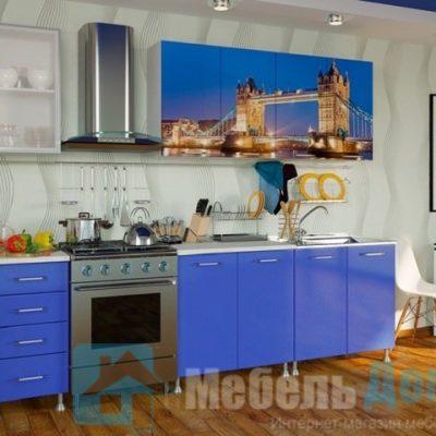 Кухня Лондон фотопечать ЛДСП 2 м   (м)