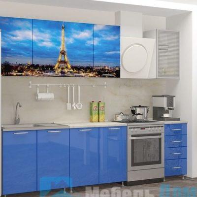 Кухня Париж фотопечать ЛДСП 2 м   (м)