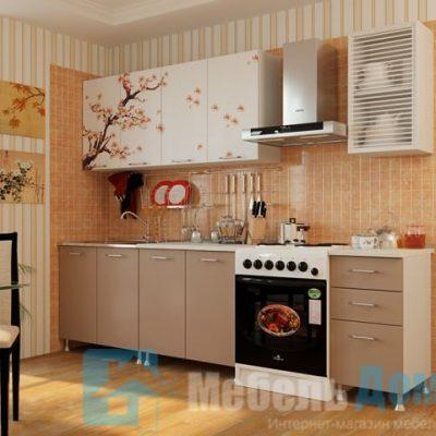 Кухня Сакура фотопечать ЛДСП 2 м   (м)