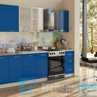 Кухня Синий 2 м   (м)