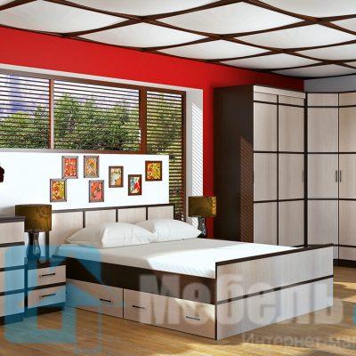 Спальня «Сакура 3» (б)