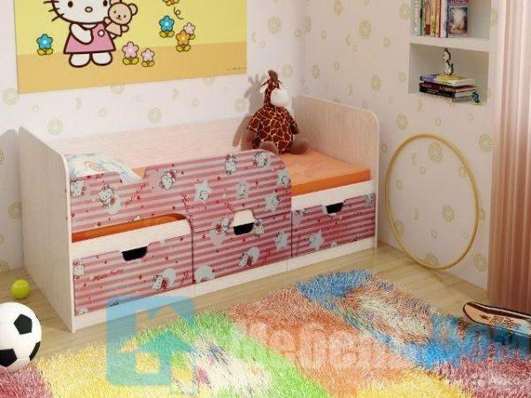 """Кровать детская """"Минима"""" Китти (б)"""