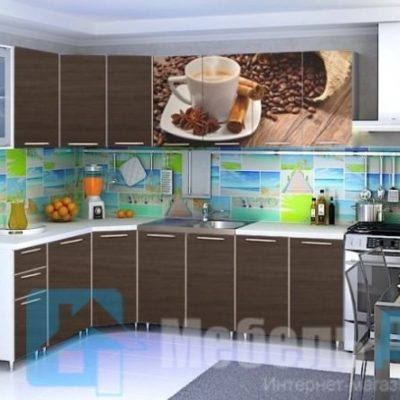 Кухня Кофе угловая   (р)