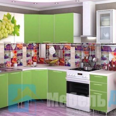 Кухня Виноград угловая   (р)