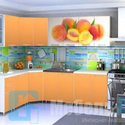 Кухня Персик угловая   (р)