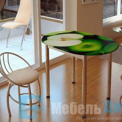 Обеденный стол Зеленое яблоко