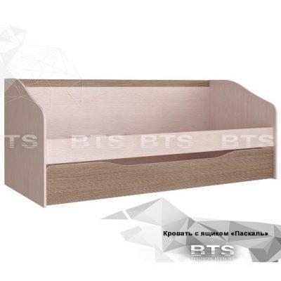 «Паскаль» Кровать с ящиком (б)