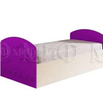 Кровать «Юниор — 2» матовая (м)