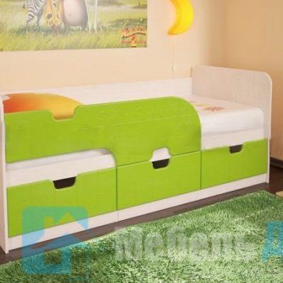 Кровать детская Минима Лайм   (б)