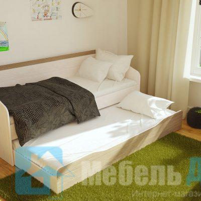 Паскаль кровать с ящиком (б)