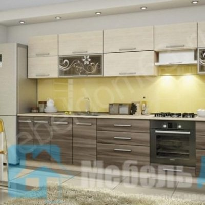 Кухня «Оливия» 3,4 м. вариант 2 (л)