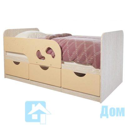 Кровать детская «Минима» Крем-брюле (б)