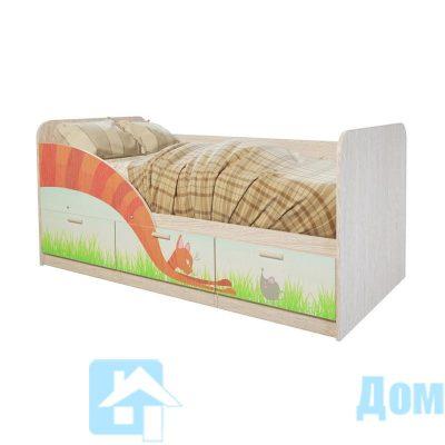 Кровать детская «Минима Сказка» (б)