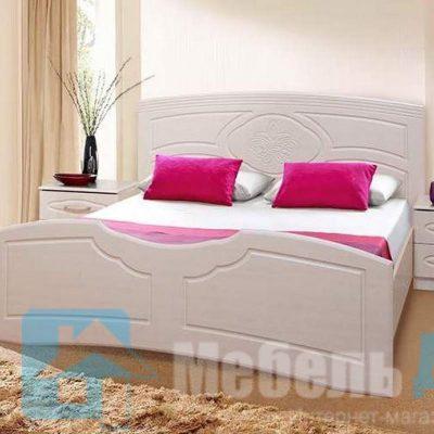 Кровать 1,6 м «Лилия» (б)