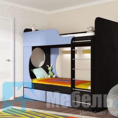 Кровать 2-х ярусная (ф)
