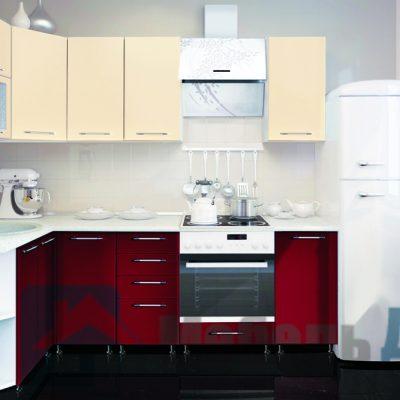Кухонный гарнитур Жасмин (МДФ) 1700/2400 мм.