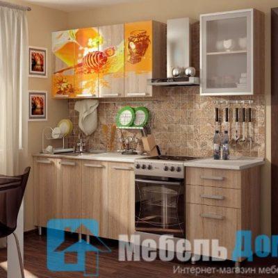 Кухня Мёд фотопечать ЛДСП 1,8 м   (б)