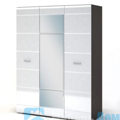 Вегас Шкаф 3-х створчатый
