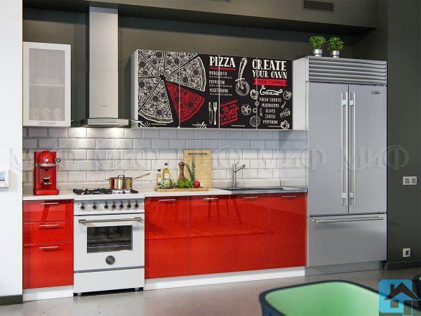 Кухня Пицца фотопечать МДФ (м)