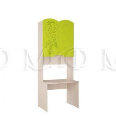 Стол с надстройкой «Юниор-3» (м)