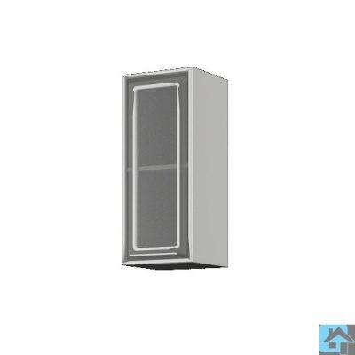 «Лондон» Шкаф со стеклом ШВС-300 (иц)