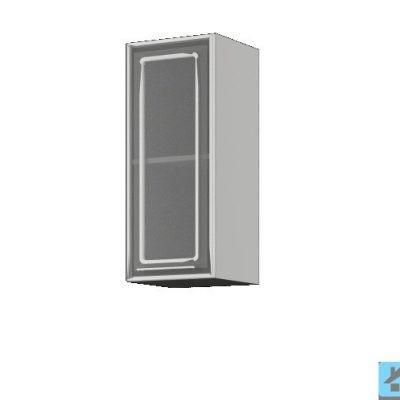 Шкаф со стеклом ШВС-300 (иц)