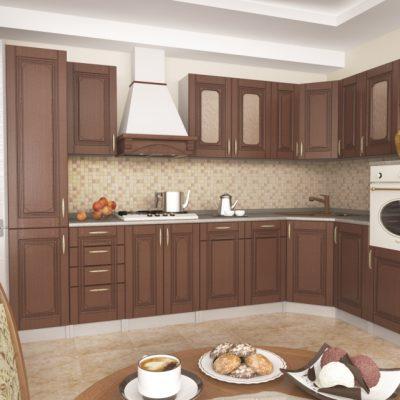 Кухонный гарнитур угловой 3,05*1,95 м «Верона» (иц)