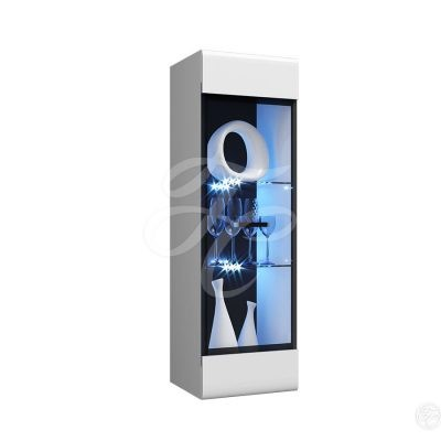 Пенал-стекло навесной (исп 2) «Нэнси NEW» (м)