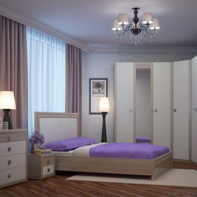 Спальня «Глэдис» композиция 2 (рн)