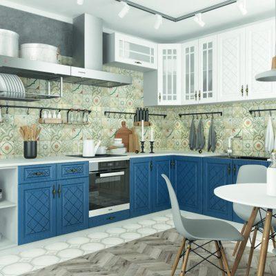 Модульная кухня «Гранд» угловая 2 (Д)
