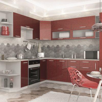 Модульная кухня «Олива» угловая 1 (Д)