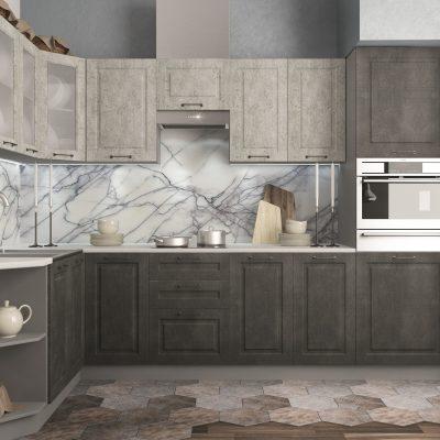 Модульная кухня «Капри» угловая 3 (Д)