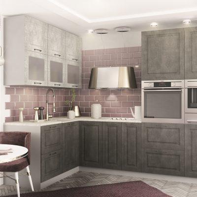 Модульная кухня «Капри» угловая 2 (Д)