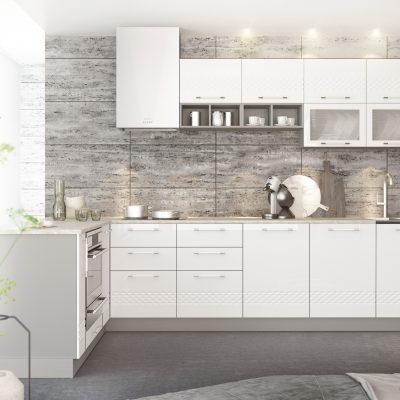 Модульная кухня «Капля» угловая 3 (Д)