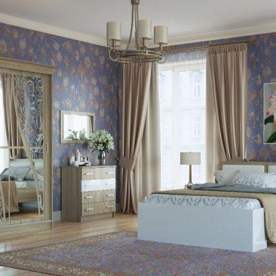 Спальня «Беатрис» композиция 2 (п)