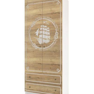 «Юнга» Шкаф 900 с ящиками (д)