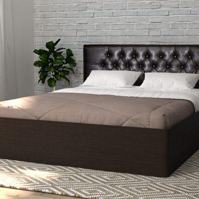 Кровать 1,6 арт.003 Вставка 2 с настилом (ДЛ)