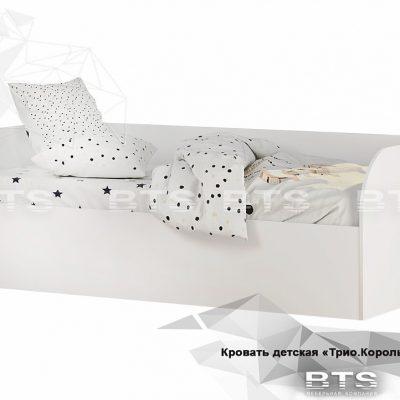 «Трио Король спорта» Кровать детская КРП-01 (б)
