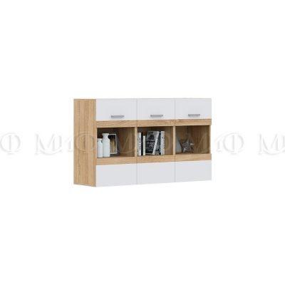 «Аванта» Шкаф навесной со стеклом ШНСТ-1500 (м)