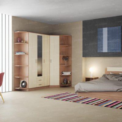 Спальня «Эко» композиция 1 (э)