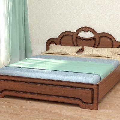 «Кэт-2» Кровать Эвита с ортопедическим основанием низкий щиток (дл)