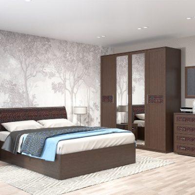 Спальня «Кэт-4» композиция 1 (дл)
