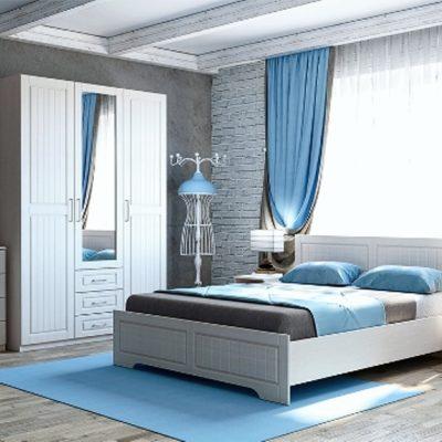 Спальня «Кэт-6 Кантри» композиция 1 (дл)