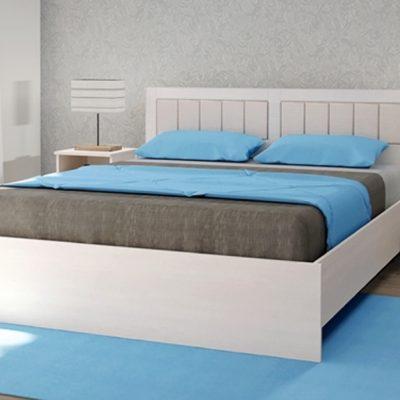 «Кэт-6 Кантри» Кровать с ортопедическим основанием мягкий щиток (дл)